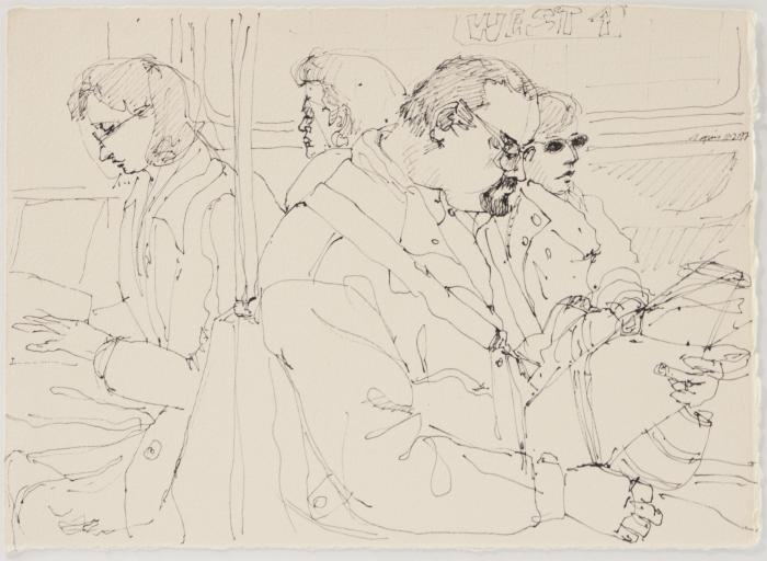 Subway Riders: Group of Four