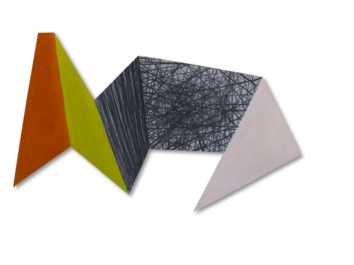 Yvette Cohen, Paper Landscape Series II #22