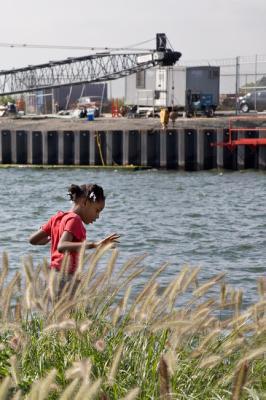 Carol Dragon, Stepping Lightly on the Pier