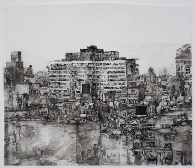 Elise Kaufman, White Bricks, East Side