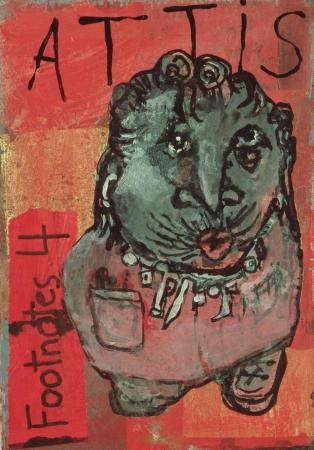 Dale Williams, Footnotes for Attis (cover)