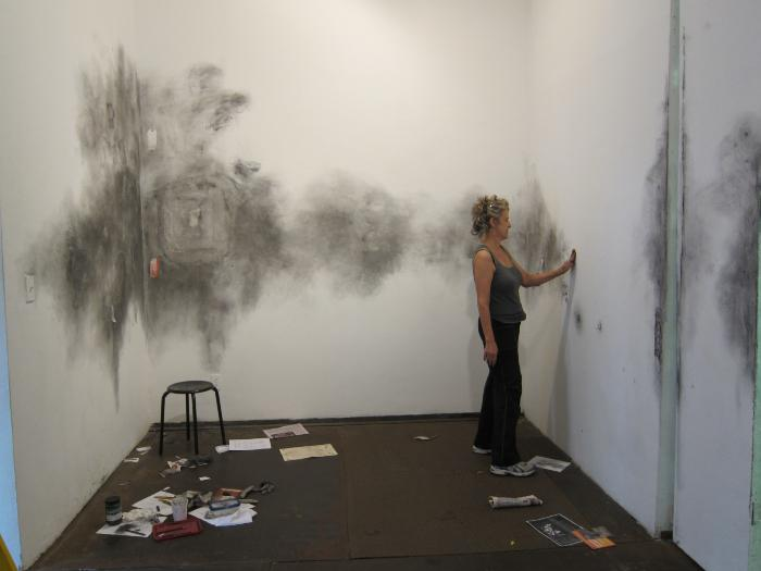 Ellen Moffat and Lezli Rubin-Kunda, Marking Space