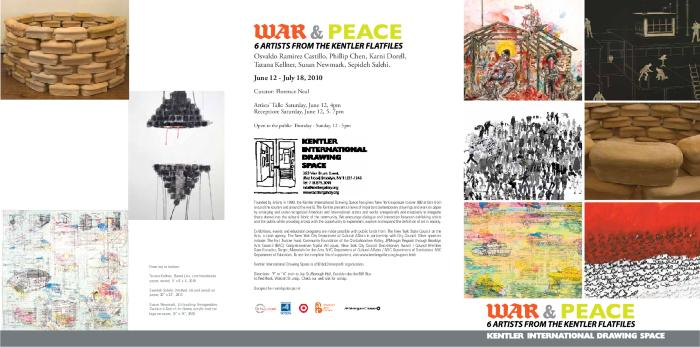 War and Peace: Selections from the Kentler Flatfiles