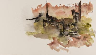 Margaret Cogswell, Red Hook Harbor Soundings 10
