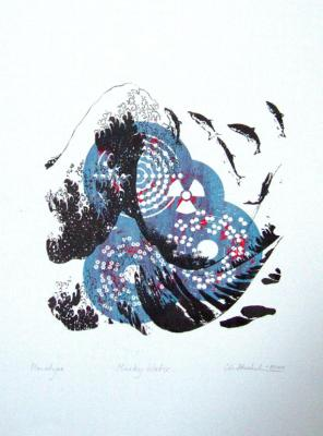 Christine Staehelin, Murky Water (Blue)