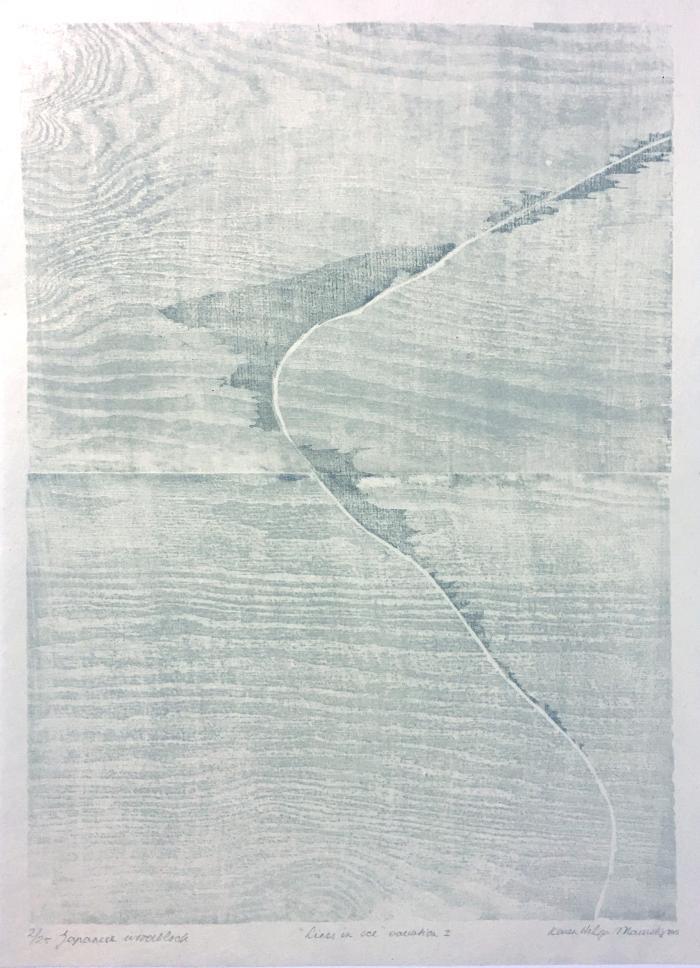 Maurstig, Lines in Ice, Variation I
