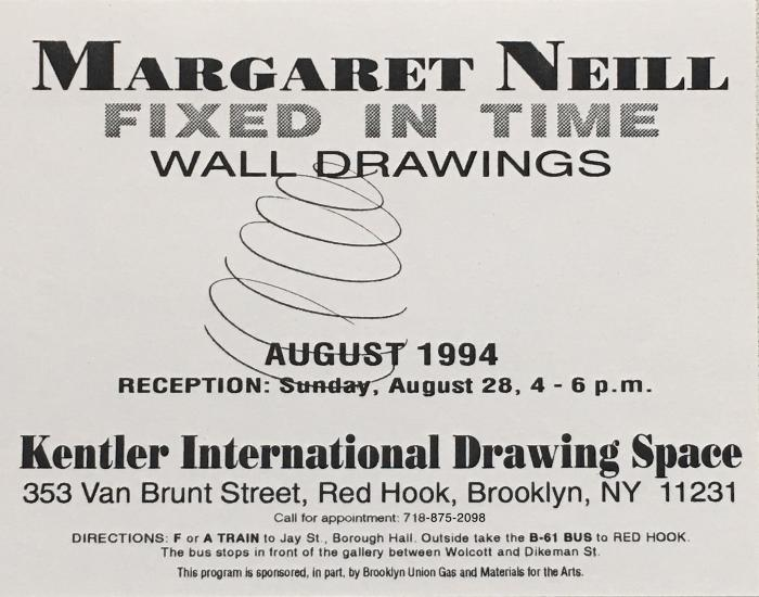 Margaret Neill, Fixed in Time