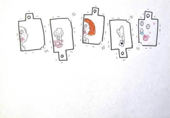 K. Saito, Foolish Drawing, Sept. 20