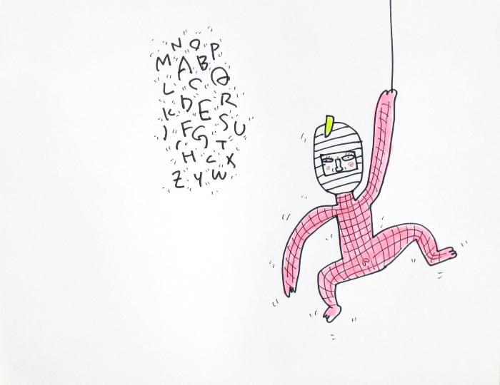 K. Saito, Foolish Drawing on Paper, June 4