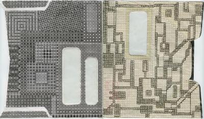 Elizabeth Duffy, Security Envelope Collage
