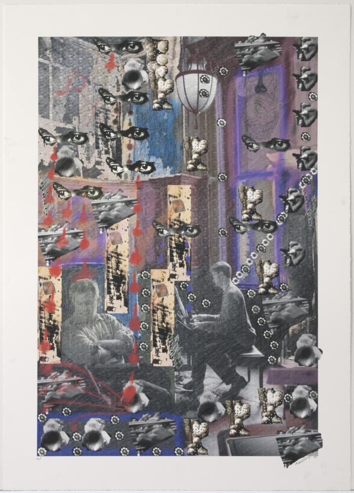 "Orlando Richards, Music Man, digital print, 29.5"" x 21"", 2008"