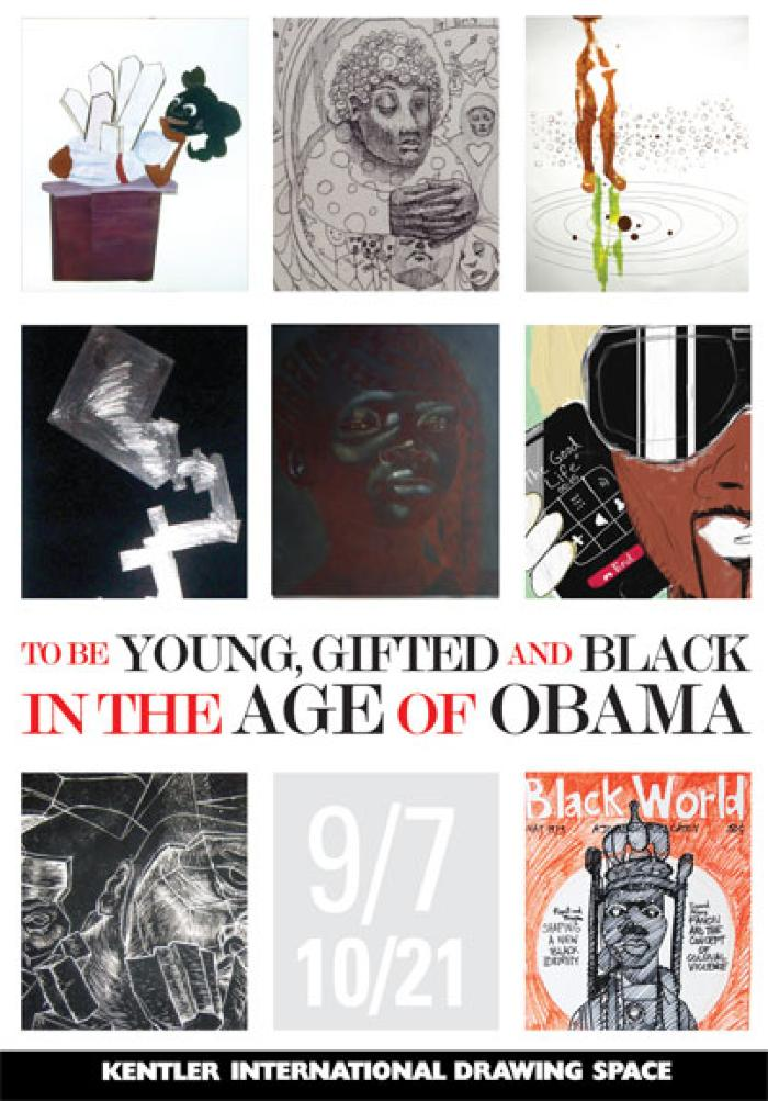 """Curator's Talk: Camille Ann Brewer, """"To Be Young, Gifted and Black in the Age of Obama"""""""