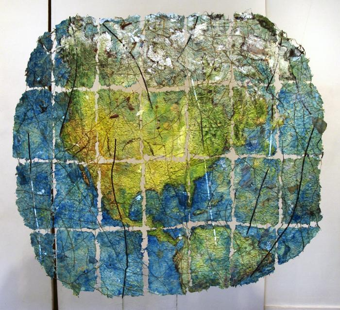 Jane Ingram Allen, Red Hook Site Map - Earth View