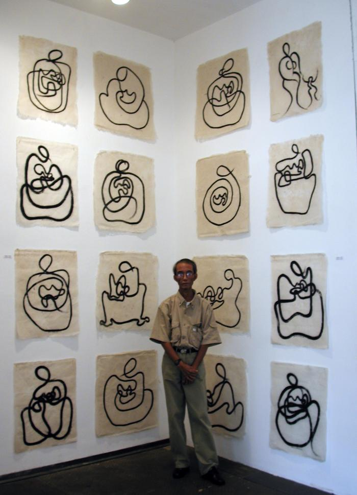Aung Myint, Drawings from Myanmar