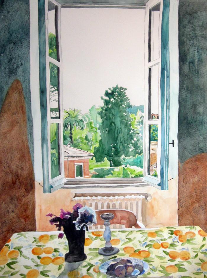 Meridith McNeal, Roman Window