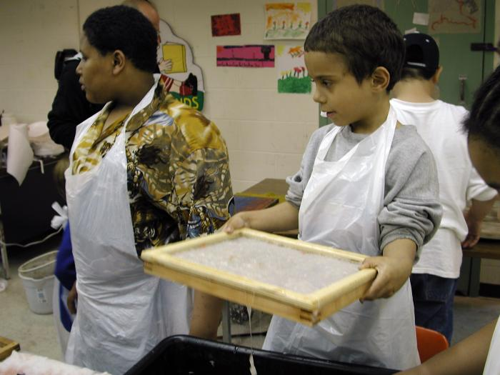 Community Art Project, Papermaking