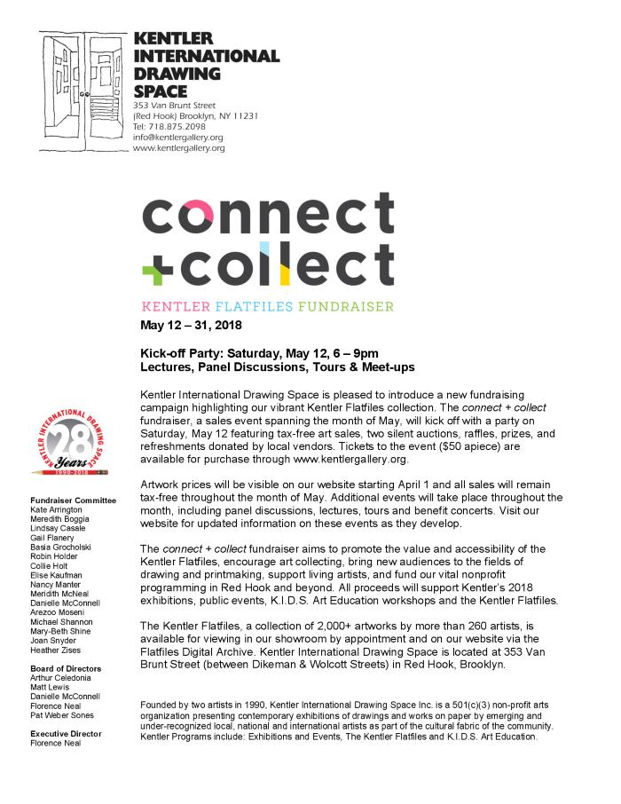 kentler international drawing space event connect collect