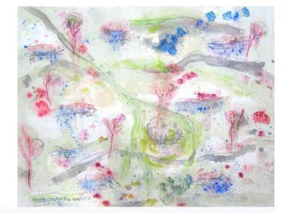 Joan Snyder, Seedcatchers/Ghosts VI