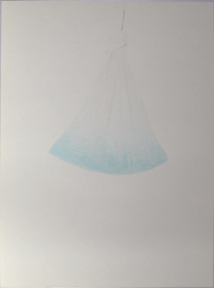 Study for Blue Hanging Bag