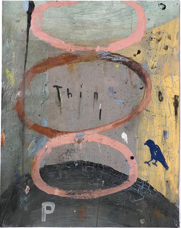 Blue Bird, Pink Rings