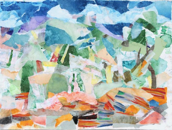 Mariella Bisson, Walk with Kandinsky