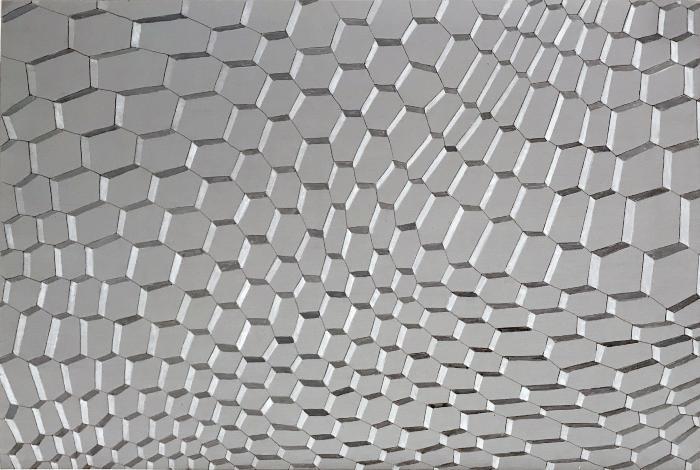 Grey Grid #3