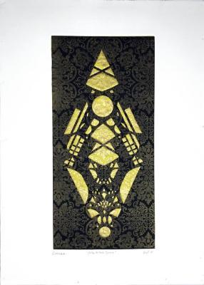 Yellow Black Diamond