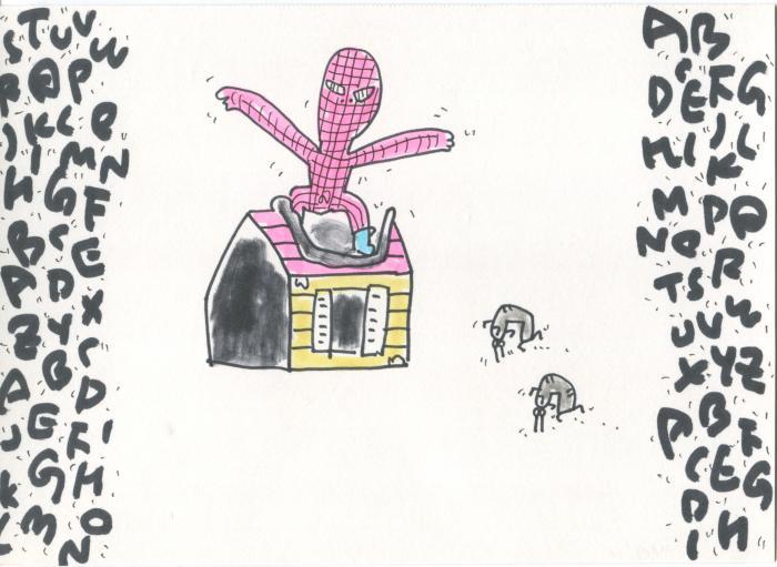 "K. Saito, ""Foolish Drawing"" Nov. 19, 2011"