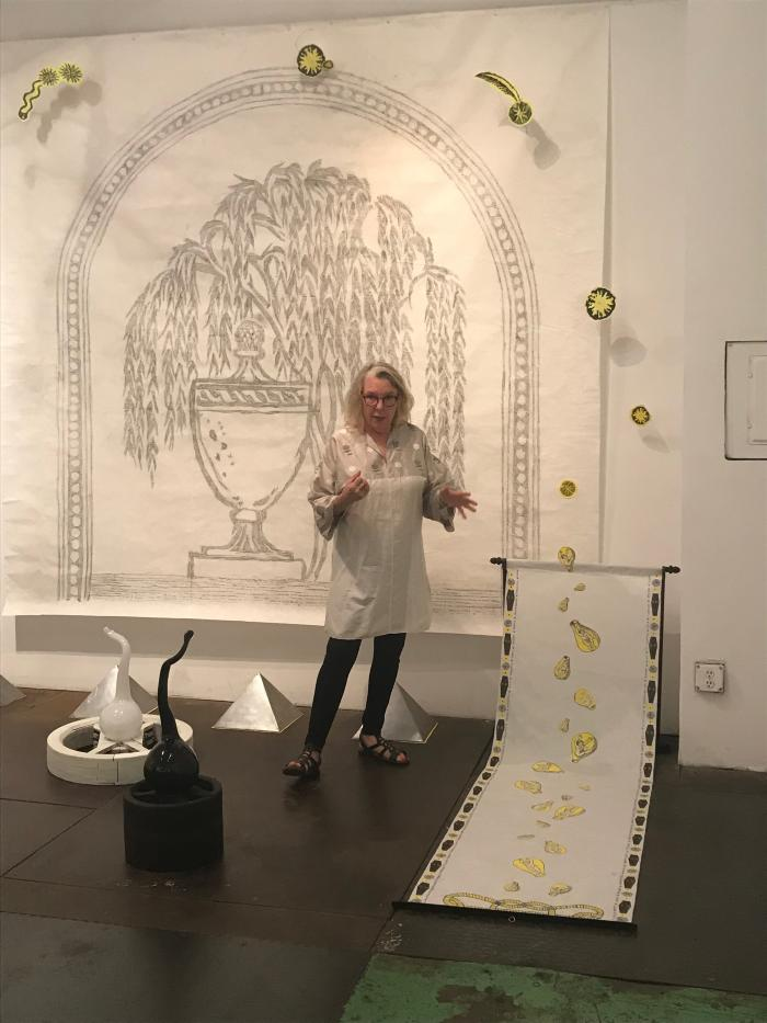 Artist's Talk with Nancy Bowen