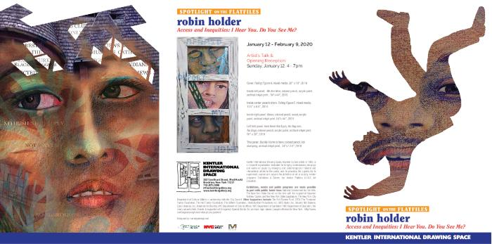 robin holder,  Access & Inequities: I Hear You. Do You See Me?