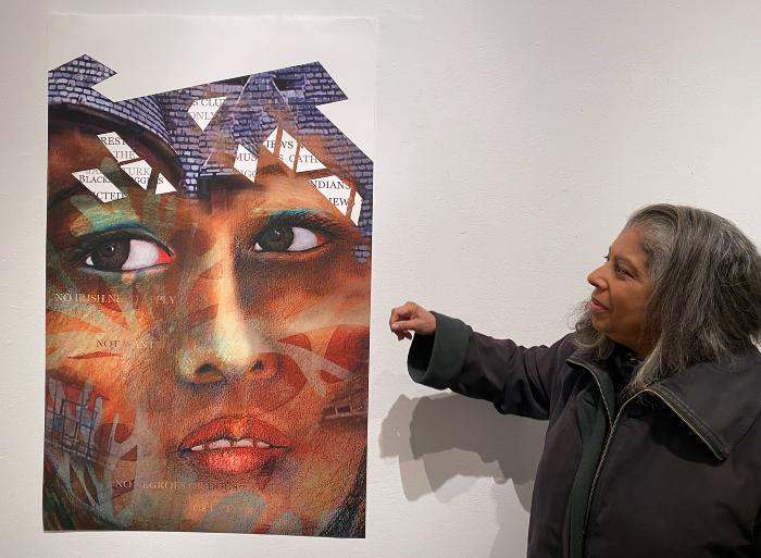 Artist's Talk with robin holder, Jan. 12, 4pm