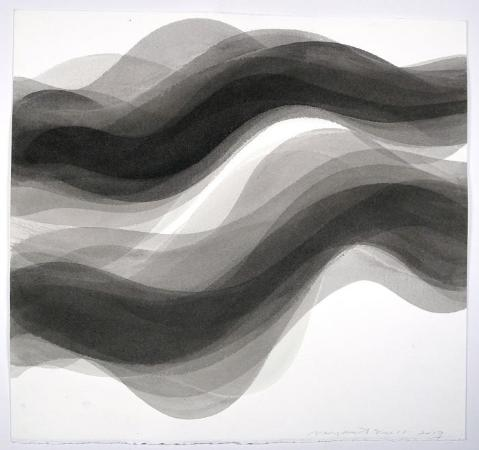 Margaret Neill, Respite 3 (Black & White)