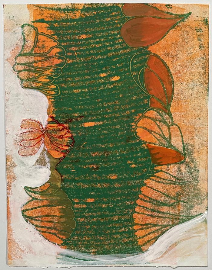 Joanne Howard, Reverse Drawing #16