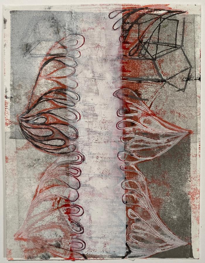 Joanne Howard, Reverse Drawing #21