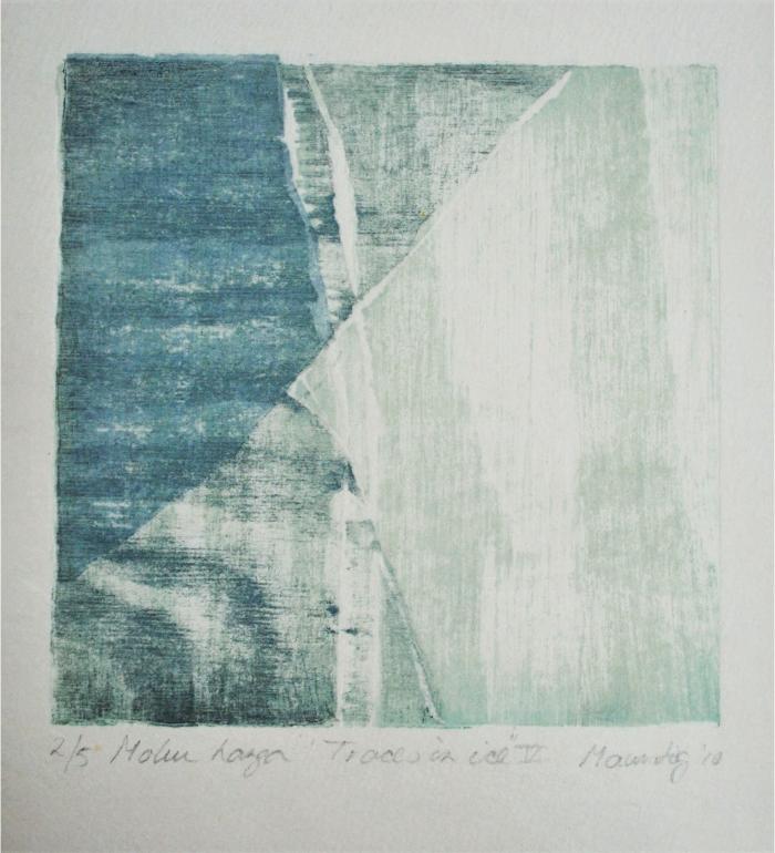 Karen Helga Maurstig. Traces in Ice V