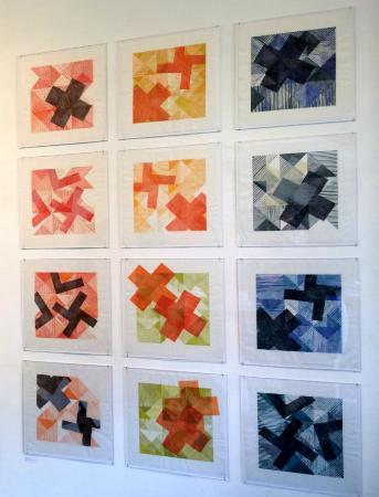 Beth Caspar, What Goes Around Comes Around (installation view)