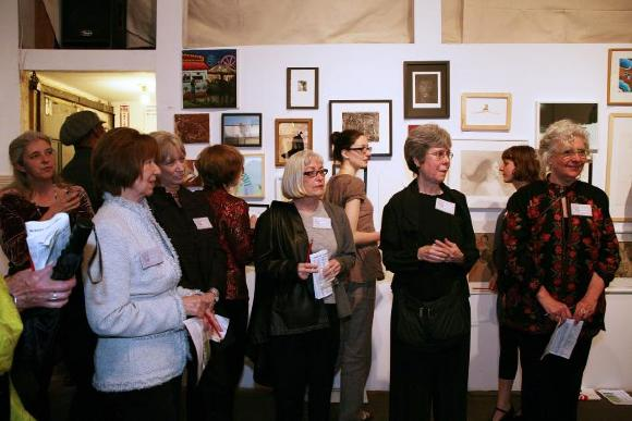 100 Works on Paper Benefit 2009