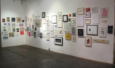 100 Works on Paper Benefit Exhibition, 2008