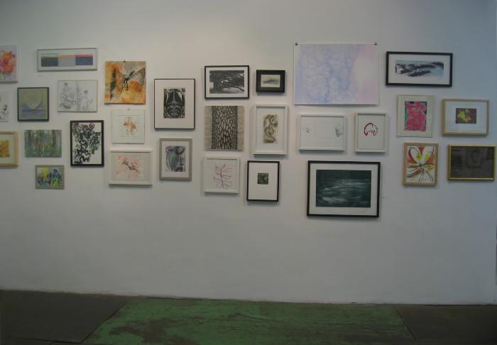 100 Works on Paper Benefit Exhibition 2010