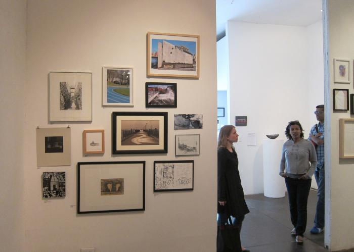 100 Works on Paper Benefit Exhibition 2012