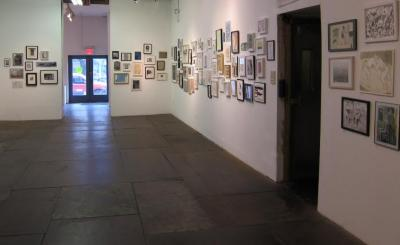 100 Works on Paper Benefit Exhibition, 2011