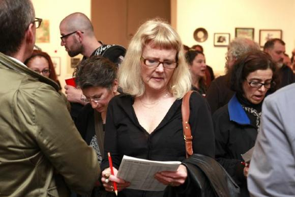 100 Works on Paper Benefit, 2013