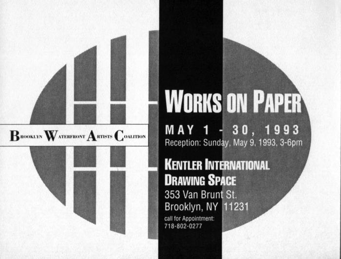 BWAC Works on Paper