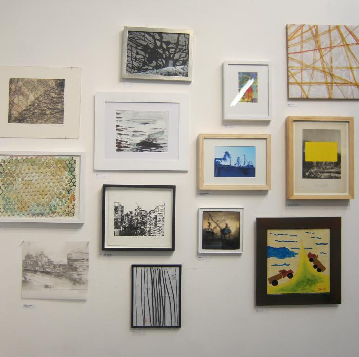 100 Works on Paper Benefit Exhibition 2014