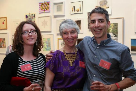 100 Works on Paper Benefit 2014