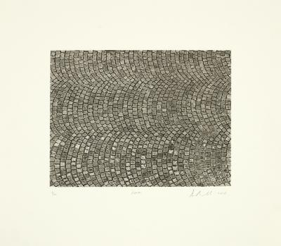 """Ann Aspinwall, """"Roma"""" Open-bite etching and spit-bite aquatint"""