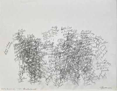 Toine Horvers, Study, Passers-By (Kentler Pencils)
