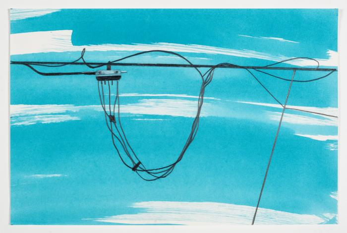"""Kingsley Parker, Skylines #5, acrylic, graphite, colored pencil, 13.5"""" x 20.5"""", 2018 (Image credit: Chris Kendall)"""