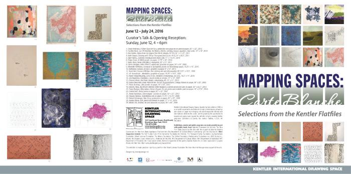Mapping Spaces: Carte Blanche, Selections from the Kentler Flatfiles