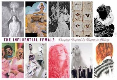 The Influential Female: Drawings Inspired by Women in History